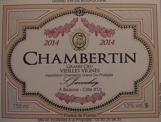 """Chambertin Grand Cru """"Vieilles Vignes"""" 2014 S.JAVOUHEY Rouge"""