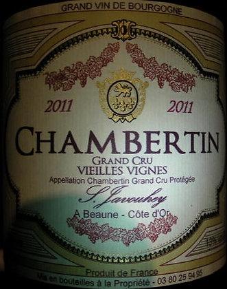 """Chambertin Grand Cru """"Vieilles Vignes"""" 2011 S.JAVOUHEY Rouge"""
