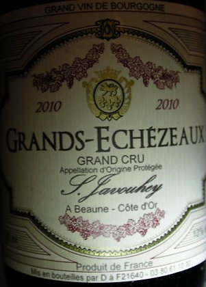 Grands-Echézeaux Grand Cru 2010 S.JAVOUHEY Rouge