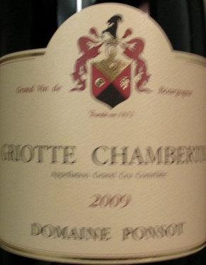 Griotte-Chambertin Grand Cru 2009 PONSOT Rouge