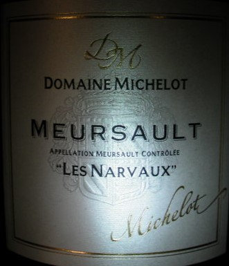 "Meursault ""Narvaux"" Magnum 2013 MICHELOT Blanc"