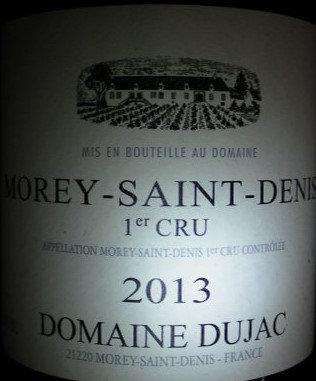 Morey-Saint-Denis 1er Cru 2013 DUJAC Rouge