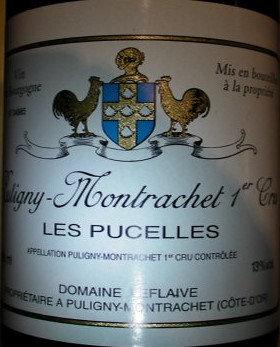 """Puligny-Montrachet 1er Cru """"Les Pucelles"""" 2010 LEFLAIVE Blanc"""