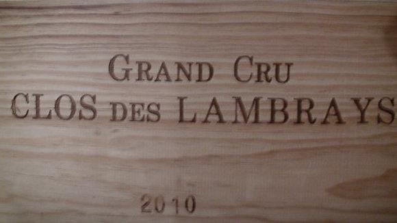 Clos des Lambrays Grand Cru 2010 Dne des LAMBRAYS Rouge