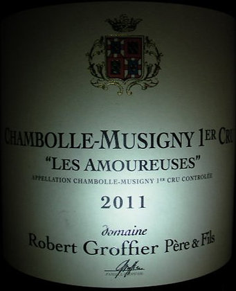 "Chambolle-Musigny 1er Cru ""Les Amoureuses"" 2011 GROFFIER Rouge"