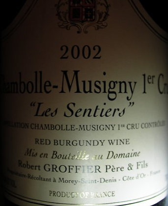 "Chambolle-Musigny 1er Cru ""Les Sentiers"" 2002 GROFFIER Rouge"
