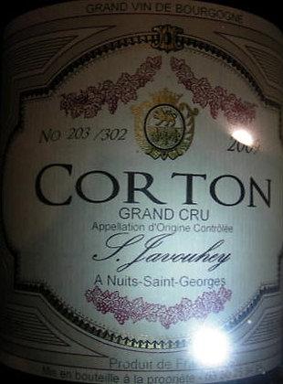 Corton Grand Cru 2009 S.JAVOUHEY Rouge