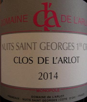 """Nuits-Saint-Georges 1er Cru """"Clos de l'Arlot"""" Magnum 2014 Dne de l'Arlot Blanc"""