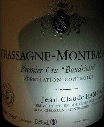 """Chassagne-Montrachet 1er Cru """"Boudriotte"""" 2017 RAMONET Blanc"""