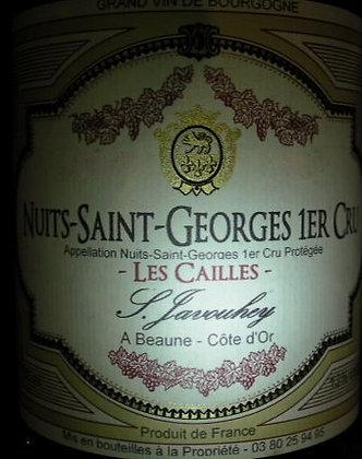 """Nuits-Saint-Georges 1er Cru """"Les Cailles"""" 2012 S.JAVOUHEY Rouge"""