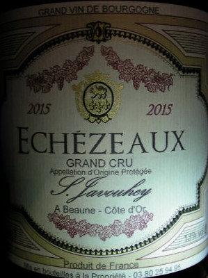 Echézeaux Grand Cru 2015 S.JAVOUHEY Rouge