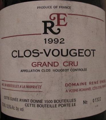 Clos Vougeot Grand Cru Magnum 1992 ENGEL Rouge