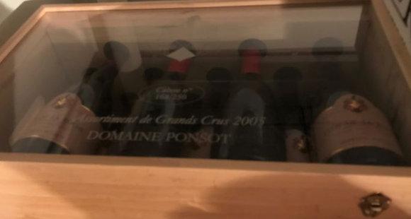 Assortiment Grands Crus Grand Cru 2005 PONSOT Rouge