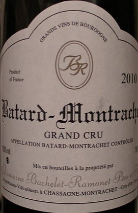 Bâtard-Montrachet Grand Cru 2010 BACHELET-RAMONET Blanc