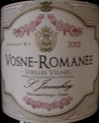 """Vosne-Romanée """"Vieilles Vignes"""" Magnum 2005 S.JAVOUHEY Rouge"""