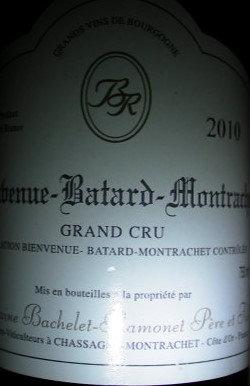 Bienvenues-Bâtard-Montrachet Grand Cru 2010 BACHELET-RAMONET Blanc
