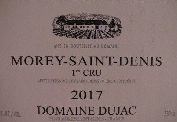 Morey-Saint-Denis 1er Cru 2017 DUJAC Rouge