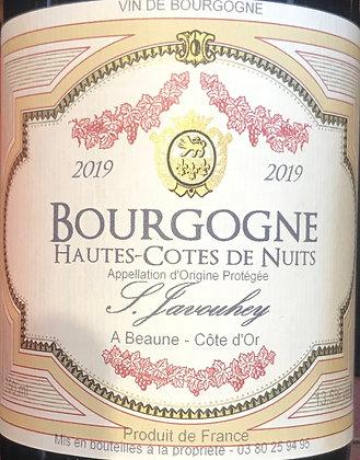 Hautes-Côtes de Nuits 2019 S.JAVOUHEY Rouge