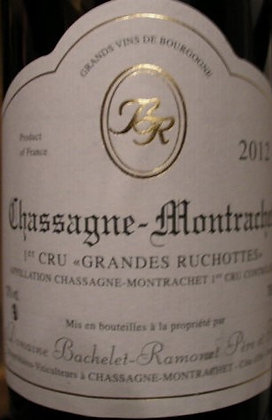 "Chassagne-Montrachet 1er Cru ""Grande Ruchotte"" 2012 BACHELET-RAMONET Blanc"