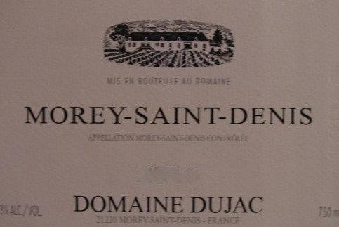 Morey-Saint-Denis 2010 DUJAC Rouge