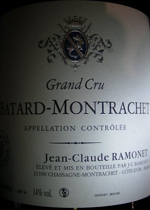 Bâtard-Montrachet Grand Cru 2012 RAMONET Blanc