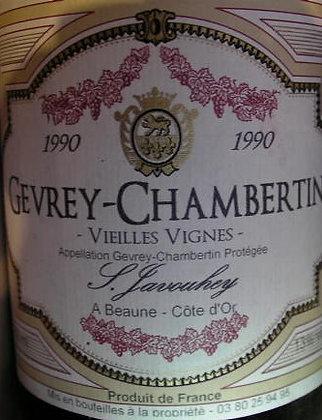 Gevrey-Chambertin 1990 S.JAVOUHEY Rouge