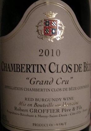 Chambertin-Clos de Bèze Grand Cru 2010 GROFFIER Rouge