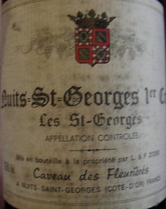 """Nuits-Saint-Georges 1er Cru """"Les Saint-Georges"""" 1990 S.JAVOUHEY Rouge"""