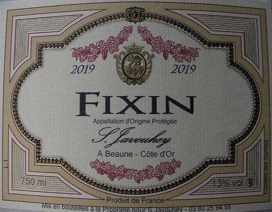Fixin 2019 S.JAVOUHEY Rouge