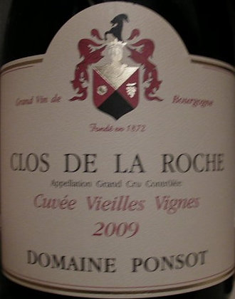"Clos de la Roche Grand Cru ""Vieilles Vignes"" Magnum 2009 PONSOT Rouge"