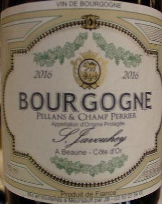 """Bourgogne """"Pellans & Champ Perrier"""" 2016 S.JAVOUHEY Blanc"""