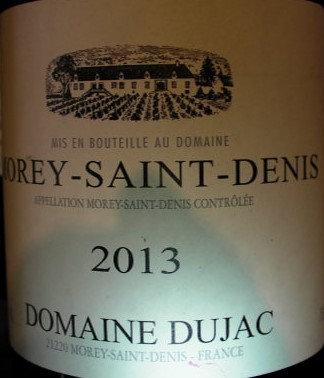 Morey-Saint-Denis 2013 DUJAC Blanc