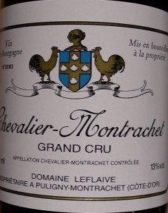 Chevalier-Montrachet Grand Cru 2015 LEFLAIVE Blanc