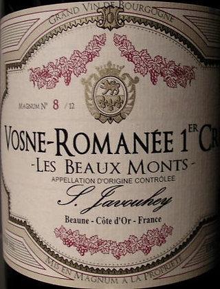 """Vosne-Romanée 1er Cru """"Les Beaux Monts"""" Magnum 2015 S.JAVOUHEY Rouge"""