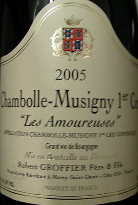 """Chambolle-Musigny 1er Cru """"Les Amoureuses"""" 2005 GROFFIER Rouge"""