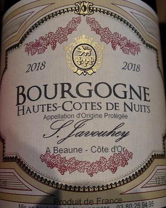 Hautes-Côtes de Nuits 2018 S.JAVOUHEY Rouge