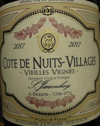 """Côte de Nuits - Villages """"Vieilles Vignes"""" 2017 S.JAVOUHEY Rouge"""