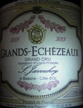 Grands-Echézeaux Grand Cru 2015 S.JAVOUHEY Rouge