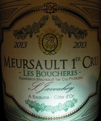 """Meursault 1er Cru """"Les Bouchères"""" 2013 S.JAVOUHEY Blanc"""