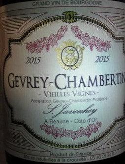 Gevrey-Chambertin 2015 S.JAVOUHEY Rouge