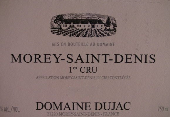 Morey-Saint-Denis 1er Cru 2010 DUJAC Rouge