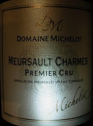 "Meursault 1er Cru ""Charmes"" 2017 MICHELOT Blanc"