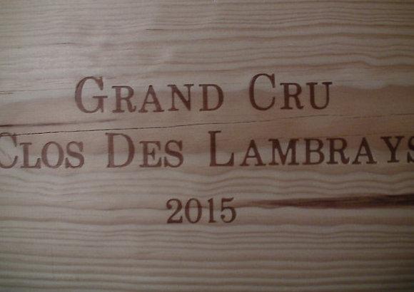 Clos des Lambrays Grand Cru 2015 Dne des LAMBRAYS Rouge