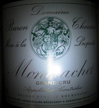 Montrachet Grand Cru Magnum 2014 THENARD Blanc