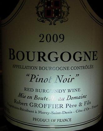 Bourgogne 2009 GROFFIER Rouge