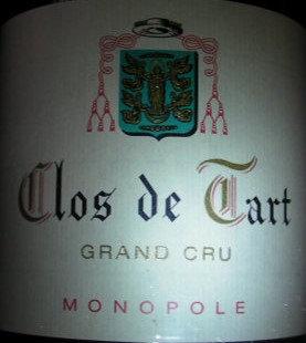 Clos de Tart Grand Cru Monopole 2015 MOMMESSIN Rouge
