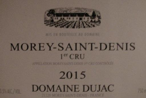 Morey-Saint-Denis 1er Cru 2015 DUJAC Rouge