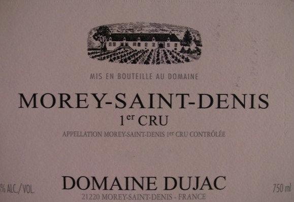 Morey-Saint-Denis 1er Cru 2009 DUJAC Rouge