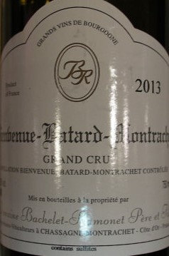 Bienvenues-Bâtard-Montrachet Grand Cru 2013 BACHELET-RAMONET Blanc