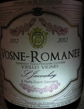 """Vosne-Romanée """"Vieilles Vignes"""" 2012 S.JAVOUHEY Rouge"""